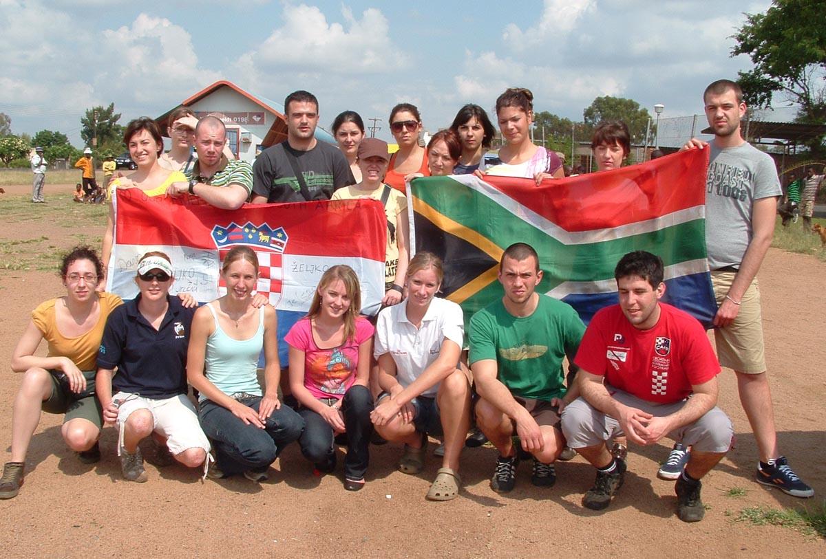 Croatian students visited SA as part of International Veterinary Students Association exchange program