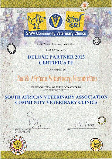 SA Veterinary Foundation supports Community Veterinary Clinics