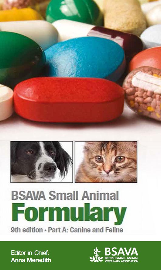 SAVA Small Animal Formulary